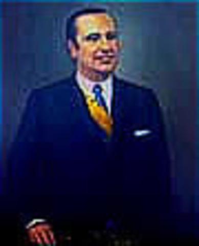 Presidente de la República de Colombia: Misael Eduardo Pastrana Borrero