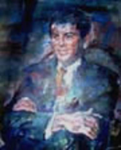 Presidente de la República de Colombia: César Gaviria Trujillo