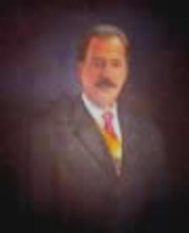 Presidente de la República de Colombia: Andrés Pastrana Arango