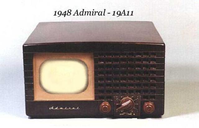 segunda generación del televisor