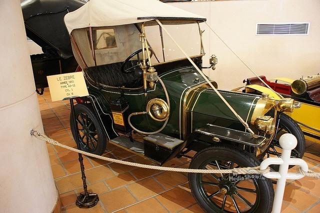 Automovil de Aceite  . 1860