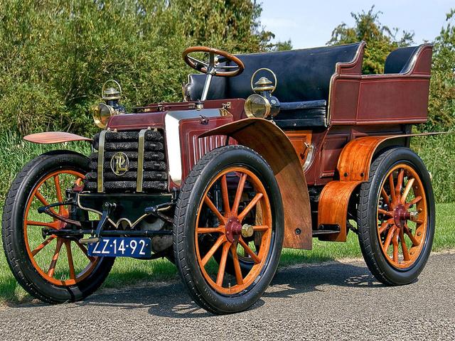 Automovil de ciclo 4 tiempos.1876