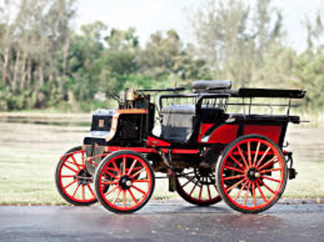 Automovil Electronico,Gasolina alta Velocidad , A petroleo (1881,1883 y 1885)