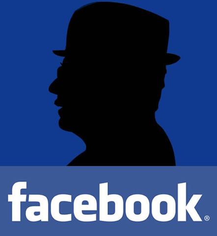 Participación de Facebook en Bogotá.