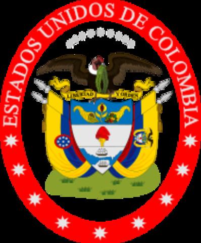 Historia de los Estados Unidos de Colombia
