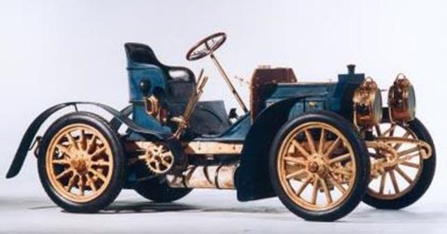Automovil de Cadenas . 1900