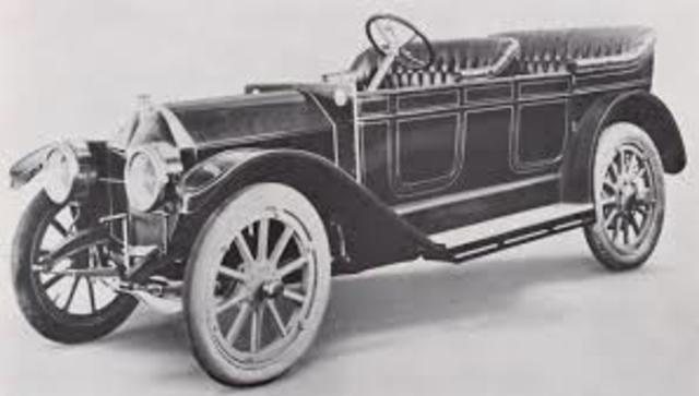 Automovil a 6 cilindros .1903