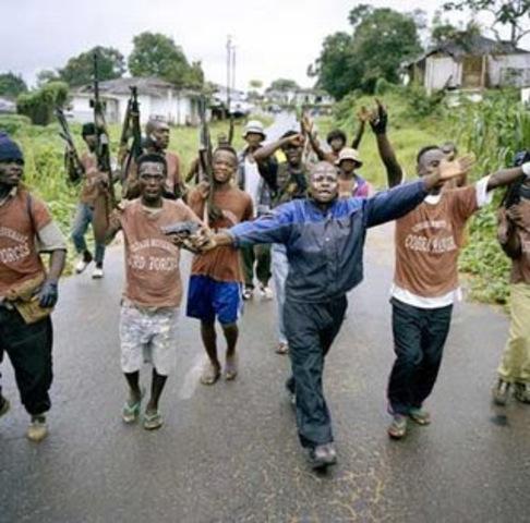 Segunda Guerra Civil Liberiana