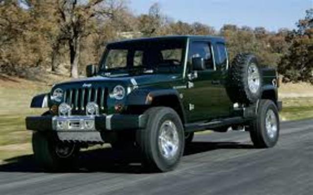 Mi camioneta jeep