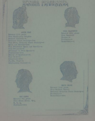 Class of 1939 Seniors