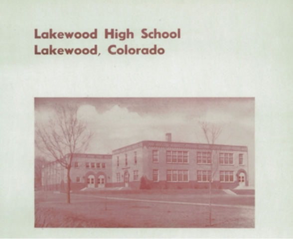 The first Lakewood High School