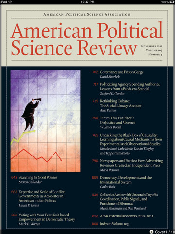 American Political Science Review