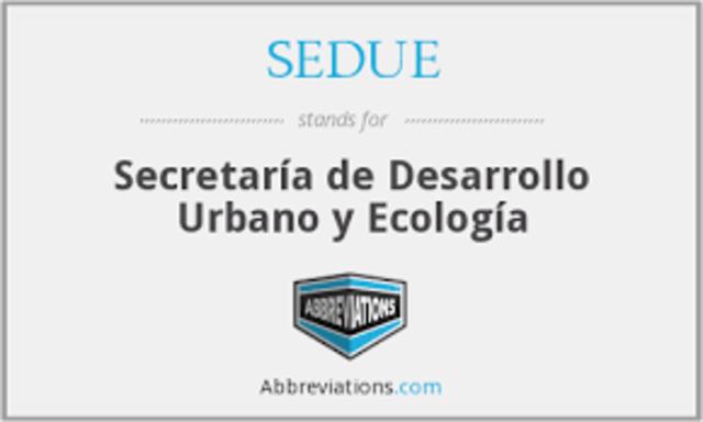 Creación de la Secretaría de Desarrollo Urbano y Ecología (México)