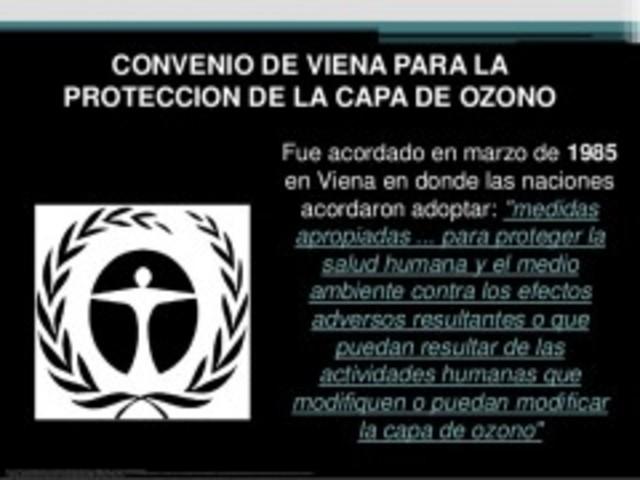 Convenio de Viena para la protección de la Capa de Ozono