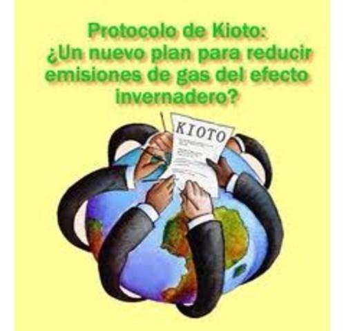 """Convención Marco de las Naciones Unidas sobre el Cambio Climático (CMNUCC): """"Protocolo de Kioto"""""""