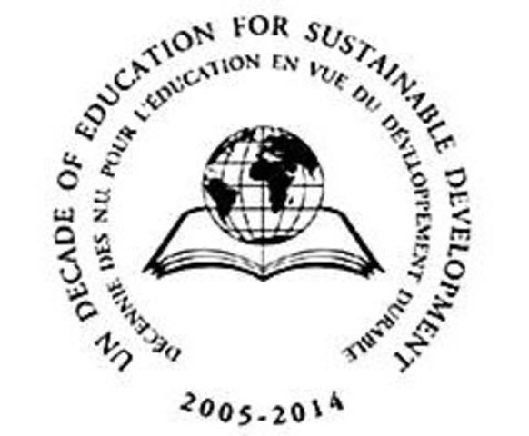 Decenio de las Naciones Unidas de la Educación para el Desarrollo Sustentable: 2005-2014