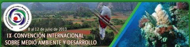 IX Congreso de Educación Ambiental para el Desarrollo Sostenible, La Habana, Cuba: