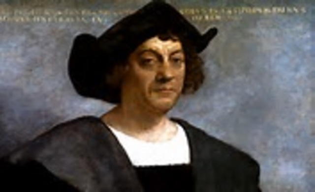 Christopher Columbus - Lands in the Caribbean