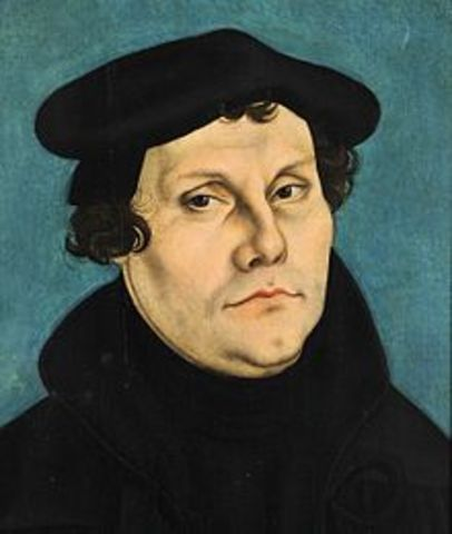 Martin Luther - German Monk