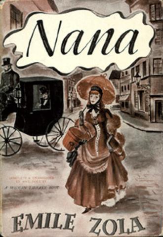 Publicación de la novela Nana.