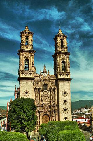 Iglesia Santa Prisca en Taxco Guerrero
