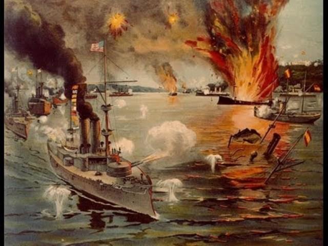 Inicio de la guerra hispano-estadounidense.