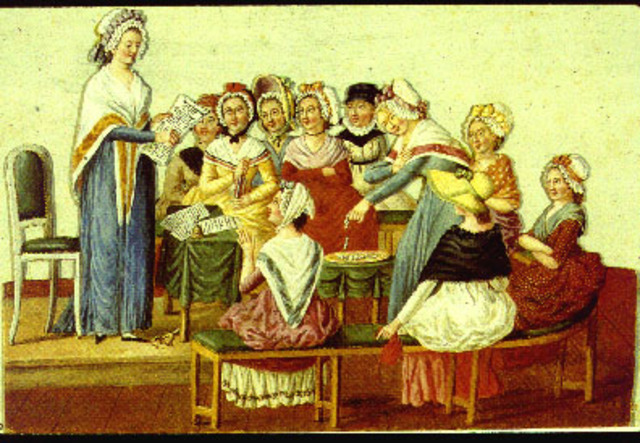 The Society of Revolutionary and Republican Women Established as a Feminist Society, With Motivation to Also Defend the French Revolution