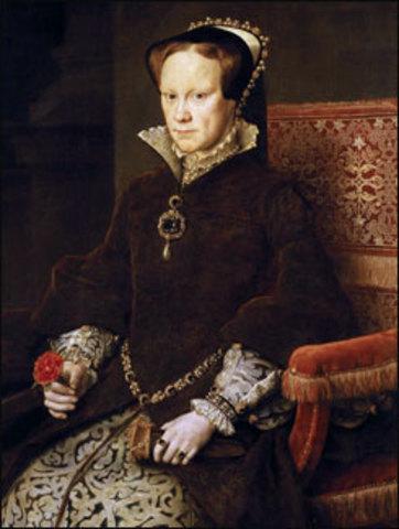 Queen Mary I - Tudor Queen - Daughter of Henry VIII