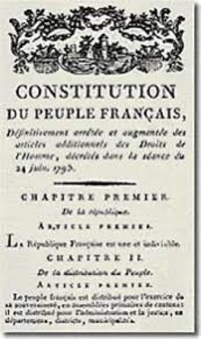 Primera Constitución de la III República Francesa