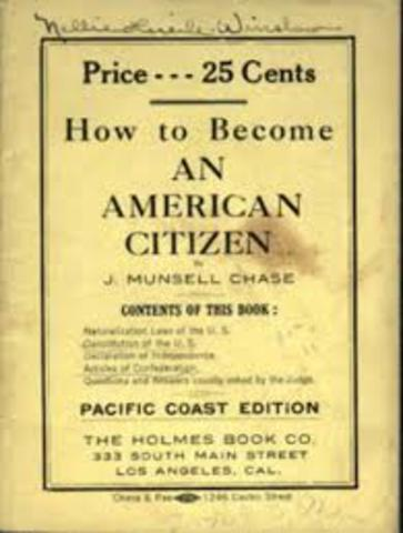 Naturalization Act of 1870