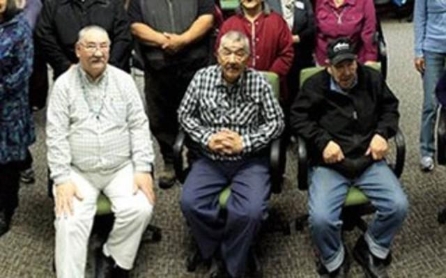 Three Attu Island Survivors Reunite