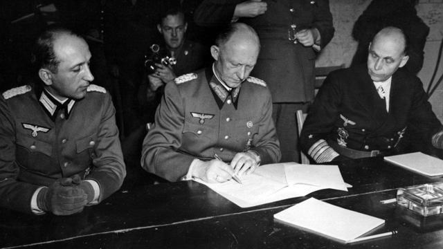 Nazi Germany Surrenders