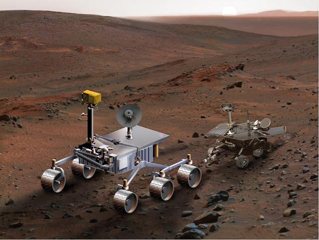 Twin Mars Exploration Rovers Land on MArs