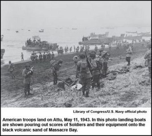 Battle of Attu Island