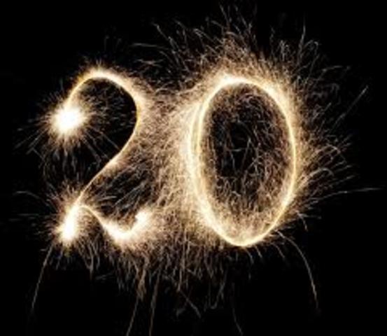 Start of 20s
