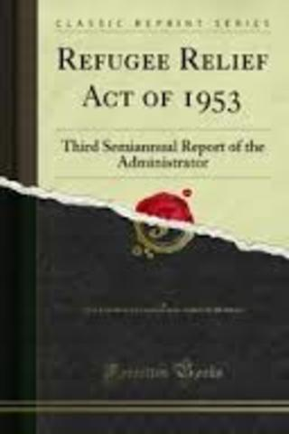 Refugee Relief Act of 1953
