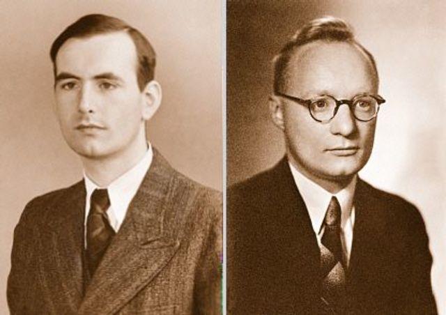 Max Knoll y Ernest Ruska (1931)