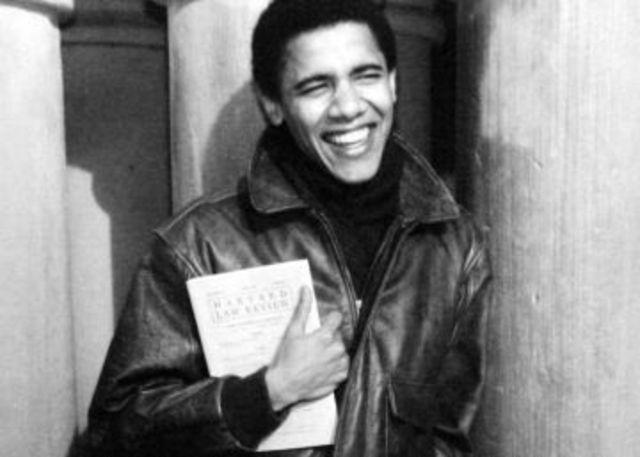 Obama entered Harvard Law School