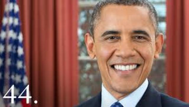 President Barack Obama is the 44th President of the United States.