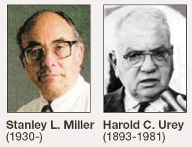 Stanley Miller y Harold Urey (1953)