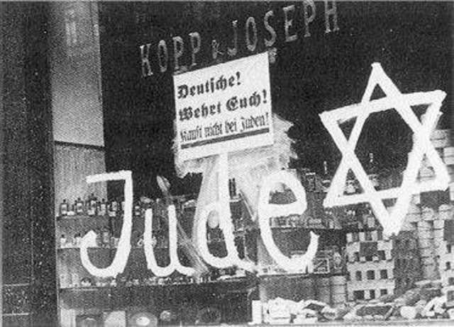 Persecución judia