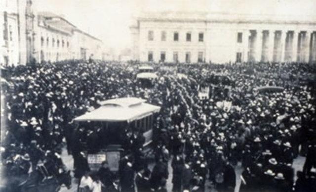 asesinato de Rafael uribe en 1914