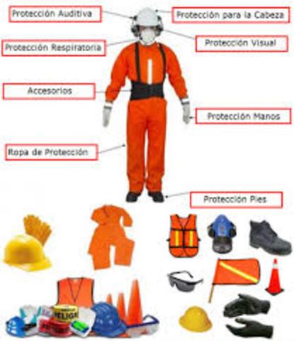protección para accidentes de trabajo