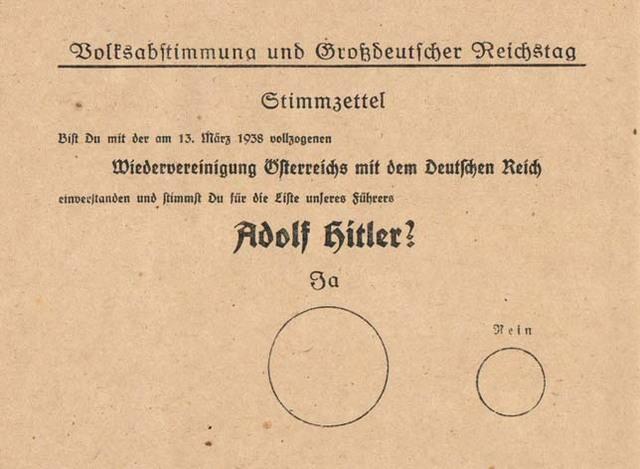 """La Alemania nazi """"invade"""" Austria"""