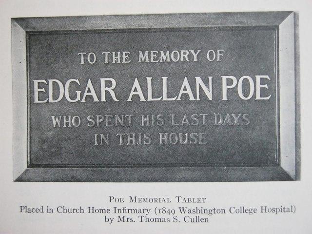 Death of Edgar Allan Poe (Social)