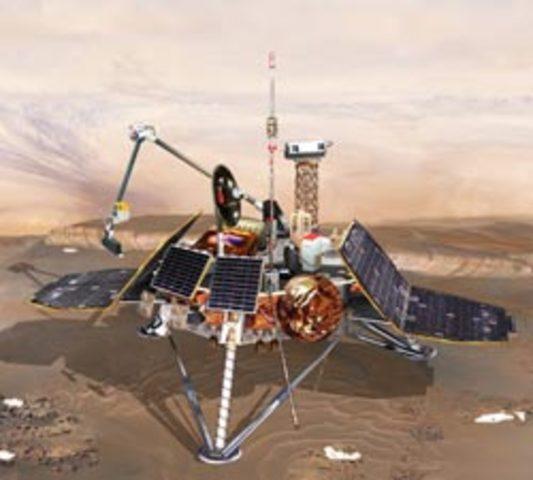 Mars Polar landing Disappears