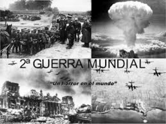 La segunda Guerra Mundial empieza