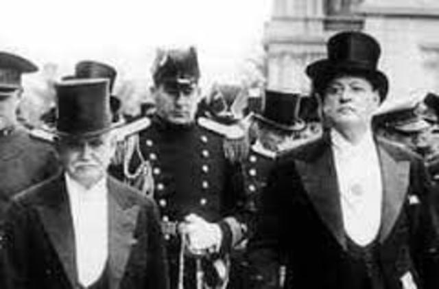 Posiciones de los presidentes de la Argentina en la segunda guerra mundial