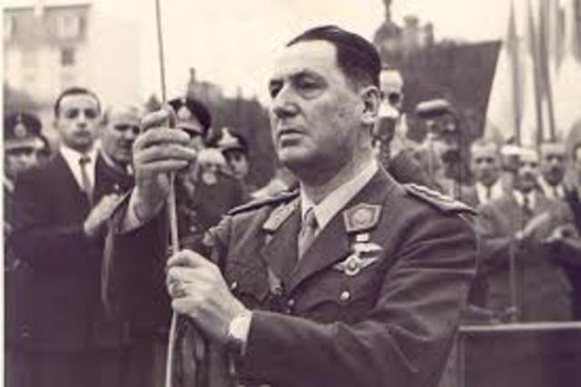 Juan Domingo Perón Renuncia
