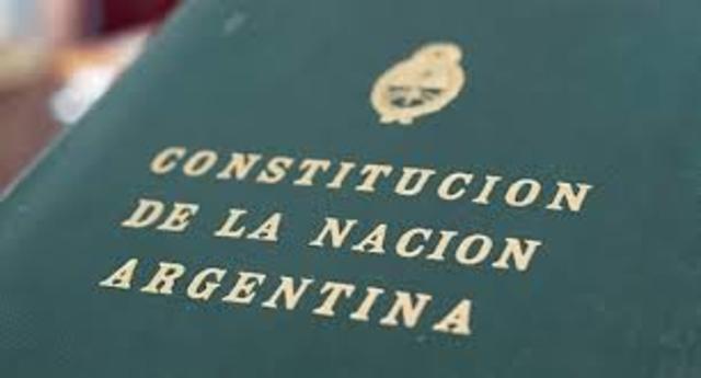 Reforma de la constitución  argentina